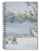 4 Seasons-winter Spiral Notebook