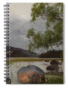 Shore Landscape Spiral Notebook