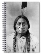 Sitting Bull 1834-1890. To License For Professional Use Visit Granger.com Spiral Notebook