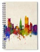 Southampton England Skyline Spiral Notebook