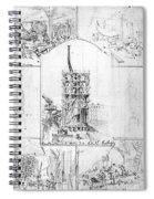 Statue Of Liberty, Paris Spiral Notebook
