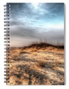 Sunrise Outer Banks Of North Carolina Seascape Spiral Notebook