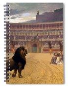 The Christian Martyrs' Last Prayer Spiral Notebook