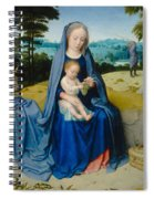 The Rest On The Flight Into Egypt Spiral Notebook