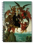 The Torment Of Saint Anthony Spiral Notebook