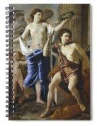 The Triumph Of David Spiral Notebook