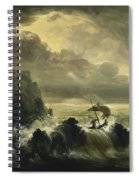 The Voyage Of Life - Manhood Spiral Notebook