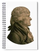 Thomas Jefferson Profile Spiral Notebook