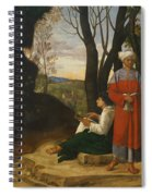 Three Philosophers Spiral Notebook