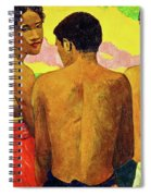 Three Tahitians Spiral Notebook