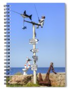 Trapani - Sicily Spiral Notebook