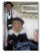 Trio Of Smokers Arizona Rangers Crystal Palace Saloon Tombstone Arizona 2004 Spiral Notebook