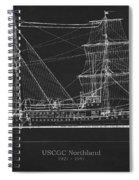 U.s. Coast Guard Cutter Northland Spiral Notebook