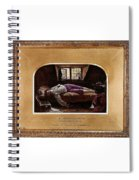 Wallis Henry The Death Of Chatterton2 Henry Wallis Spiral Notebook