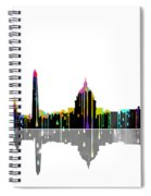 Washington  Dc Skyline Spiral Notebook