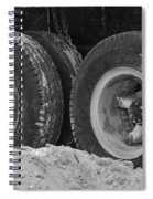 4 Wheels And Sand Spiral Notebook