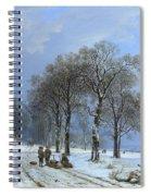 Winterlandschap Spiral Notebook