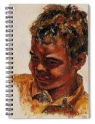 4-year-old Talented Drummer Spiral Notebook