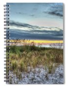 Yorktown Beach At Sunrise Spiral Notebook
