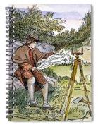 George Washington Spiral Notebook