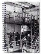 40 Inch Liquid Hydrogen Bubble Chamber Spiral Notebook