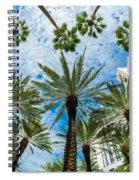 Miami Beach Spiral Notebook