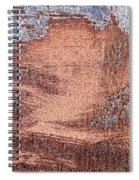 Rusty Metal Spiral Notebook