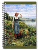41194 Daniel Ridgway Knight Spiral Notebook