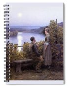 41226 Daniel Ridgway Knight Spiral Notebook
