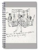 41601 Carlos Saenz De Tejada Spiral Notebook