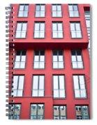 Modern Building Spiral Notebook