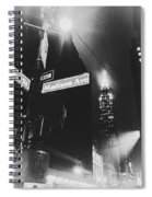 42nd And Madison Spiral Notebook