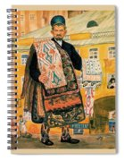43770 Boris Kustodiev Spiral Notebook