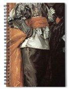 43meagr3 Frans Hals Spiral Notebook