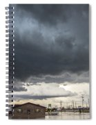 7th Storm Chase 2015 Spiral Notebook