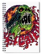 44 Cal Entertainment Logo Spiral Notebook