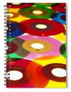 45 Rpm Spiral Notebook