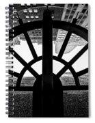 45 Wall Street, Lower Manhattan New York Spiral Notebook