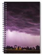 First Nebraska Storm Chase 2015 Spiral Notebook