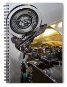 47 Triumph Roadster Spiral Notebook