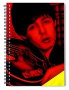 Paul Mccartney Collection Spiral Notebook