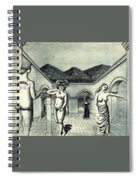 4dpict Mn Paul Delvaux Spiral Notebook