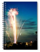 4rth Of July Spiral Notebook