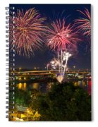 4th Of July Fireworks Spiral Notebook