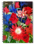 4th Of July Surprise  Spiral Notebook
