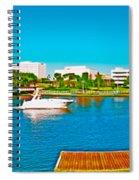 4x1 Downtown Tampa Panorama Spiral Notebook