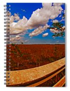 4x1 Everglades Panorama Number Two Spiral Notebook