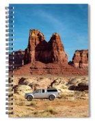 4x4 At Lake Powell Spiral Notebook
