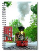 A President's Funeral Train - 3435 Spiral Notebook