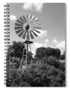 Aermotor Windmill Spiral Notebook